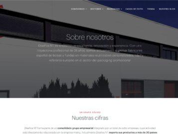Web de Diseños NT