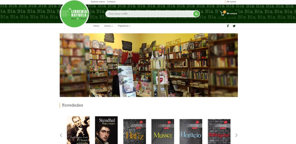 Weblib de Librería Rayuela Sigüenza