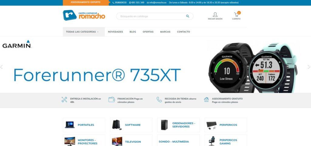 Nueva web de Romacho
