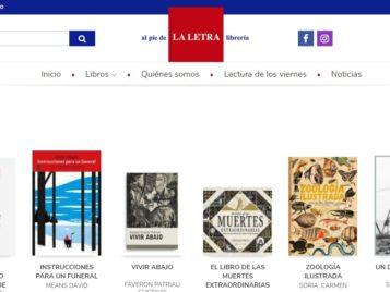 Nueva web de la Librería Al Pie De La Letra
