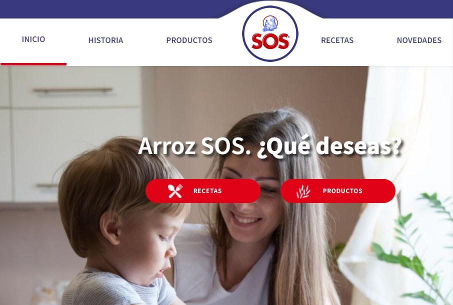 Nueva web de Arroz SOS
