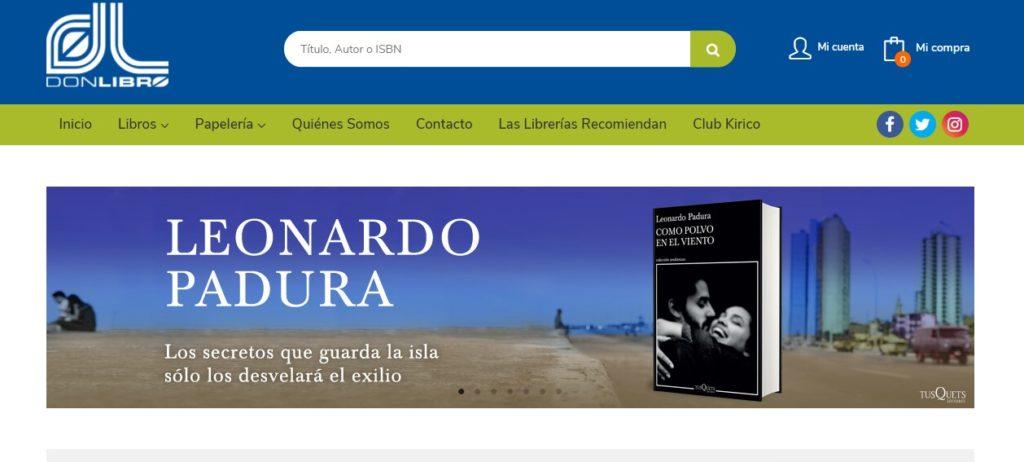 Nueva web de Librería Don Libro