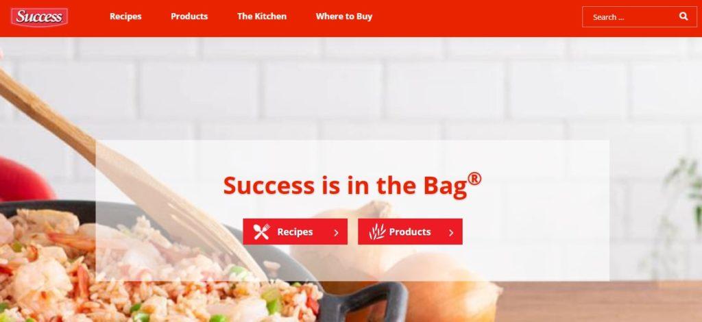 Nueva web de Success Rice