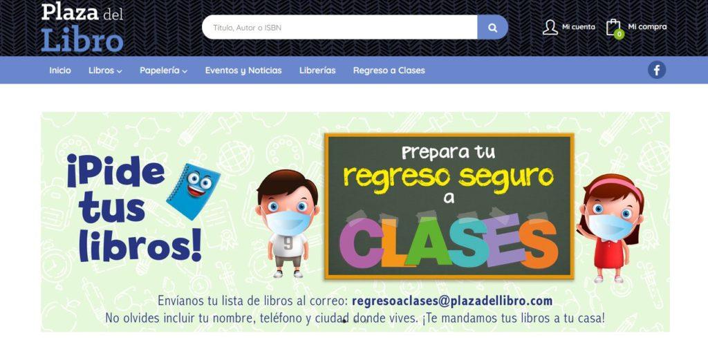 Nueva web de Plaza del Libro