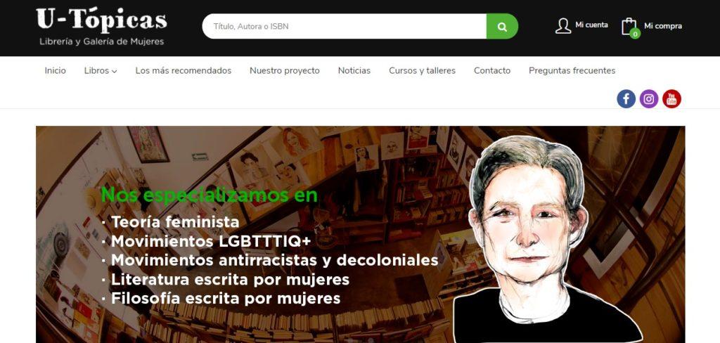 Nueva web de Librería U-Tópicas
