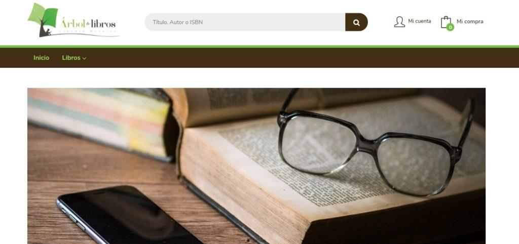 Nueva web de Árbol de Libros
