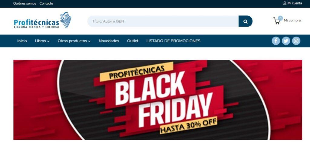 Nueva versión de la web de Profitécnicas