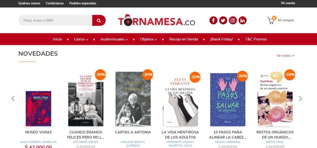 Nueva versión de la web de Tornamesa