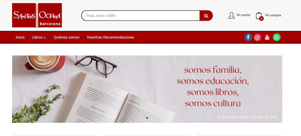 Nueva web de Santos Ochoa Barcelona