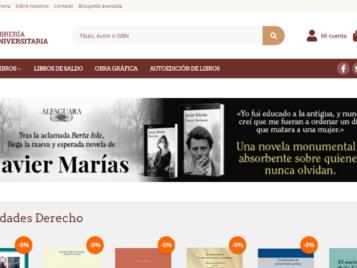 Nueva web de Librería Universitaria de León