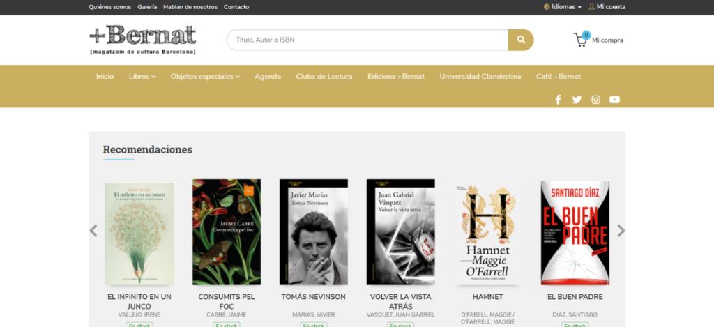 Nueva web de +Bernat