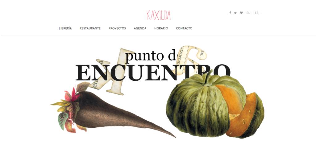 Nueva web de Kaxilda