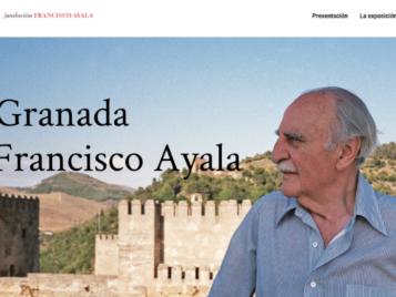 Nueva web de Exposición 'La Granada de Francisco Ayala'