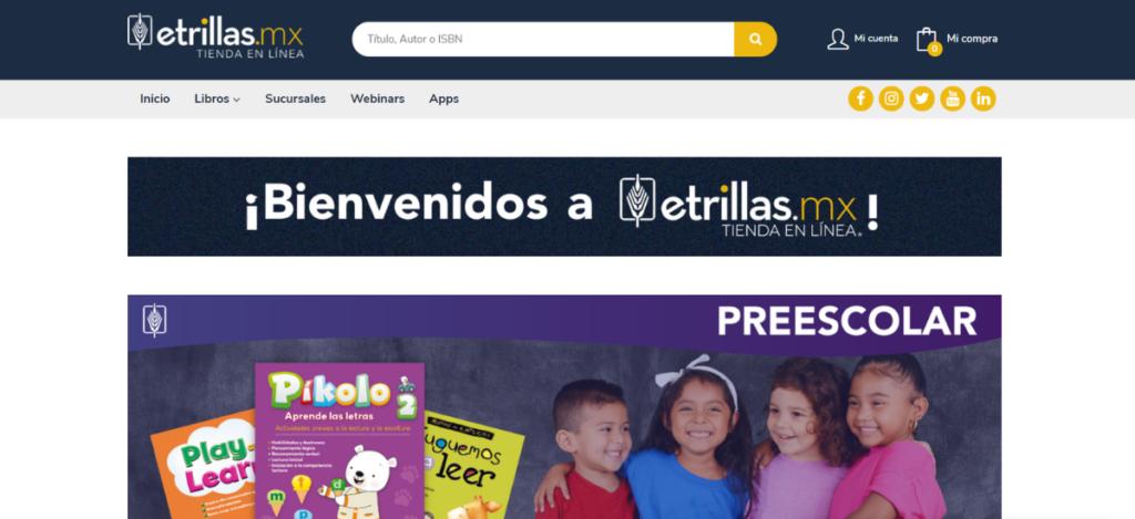 Nueva web de Editorial Trillas
