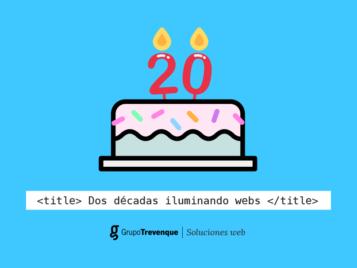 El departamento de Soluciones Web de Grupo Trevenque cumple 20 años