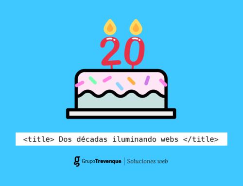 ¡Soluciones Web cumple 20 años!