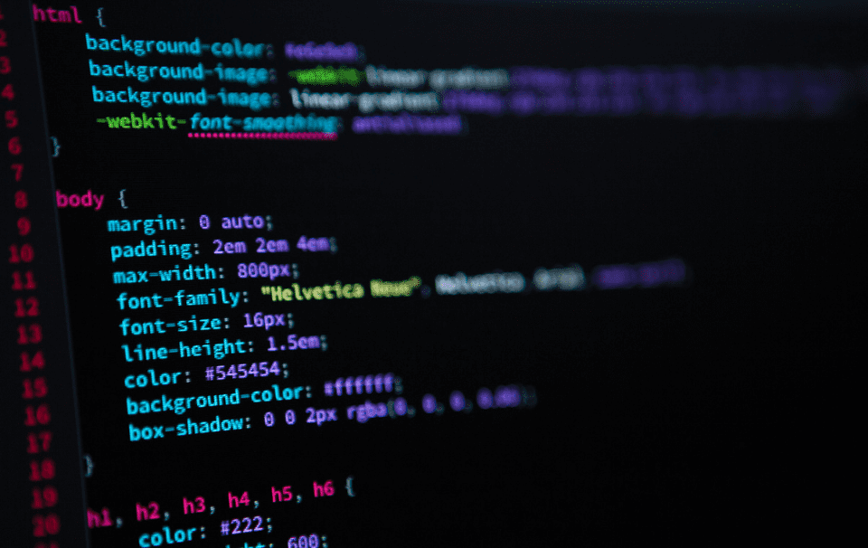 Página Web desarrollada en HTML