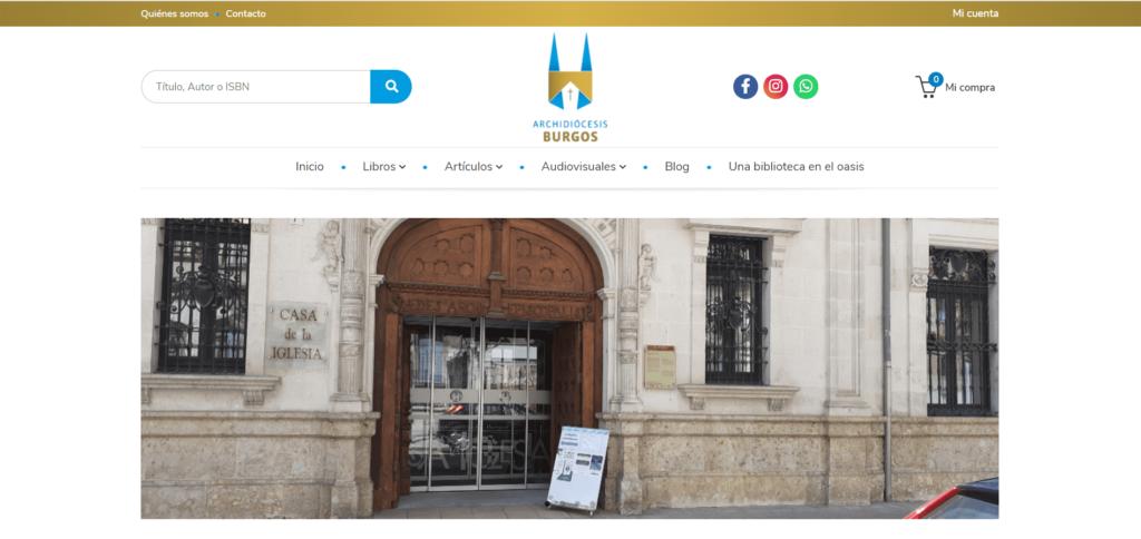 Weblib Librería Diocesana de Burgos