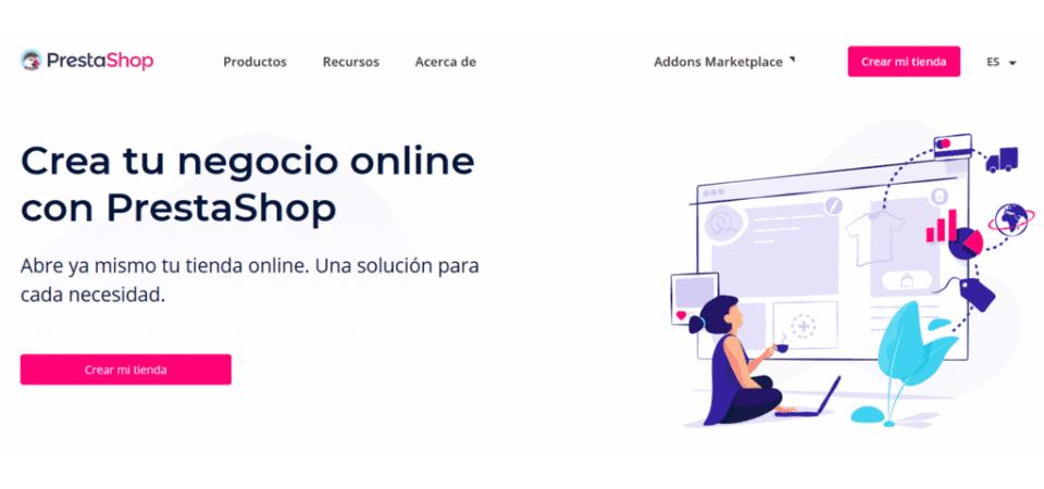 Prestashop es la plataforma ecommerce más utilizada en el mundo