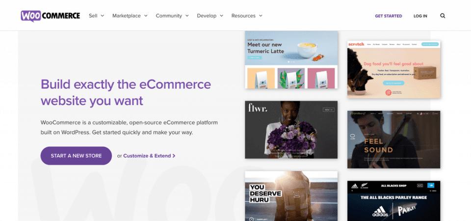 Woocomerce es un plugin de comercio electrónico para WordPress