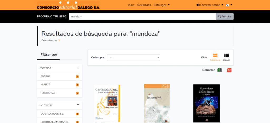 Webdis Consorcio Editorial Gallego