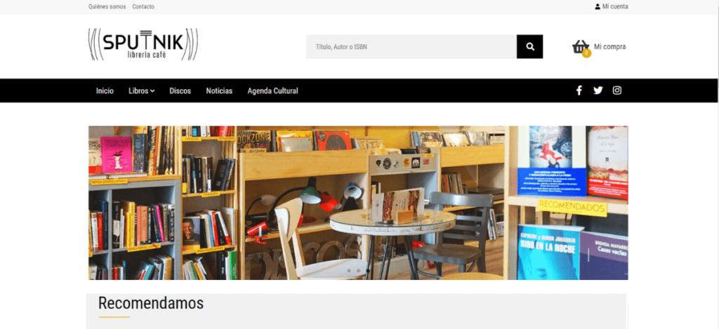 Web Librería Sputnik