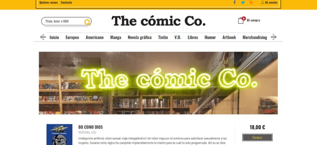 Web The cómic Co.