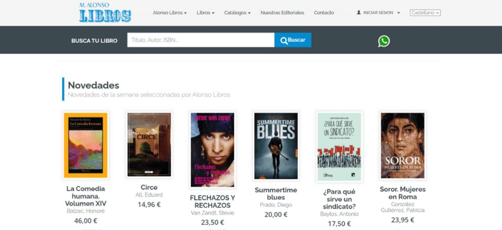 Web Alonso Libros