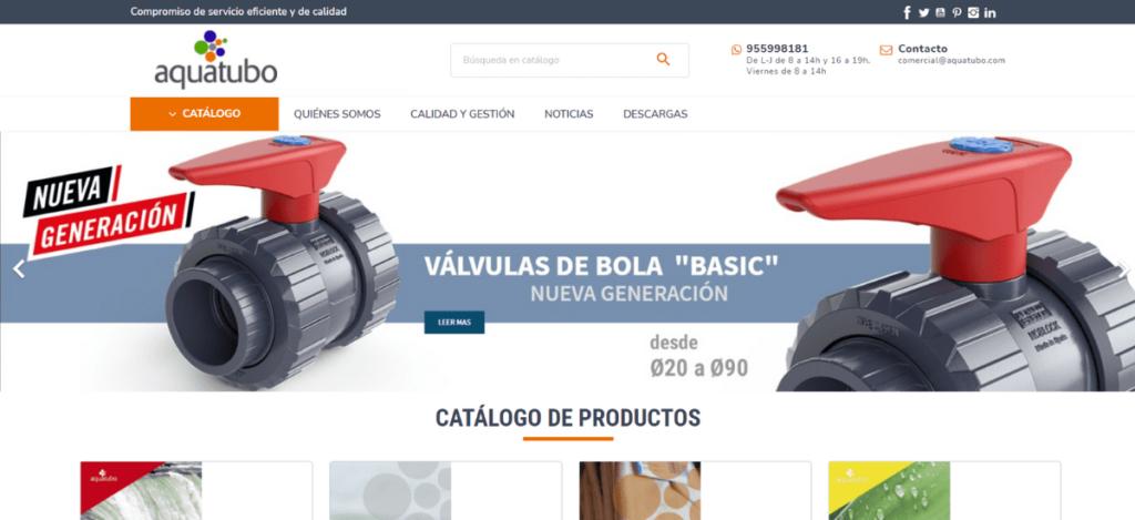 Página Web Aquatubo